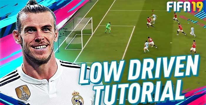Finishing Tutorial - Low Driven Shot in FIFA 19