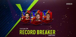 FIFA 19 Record Breaker Cards Guide and Players List