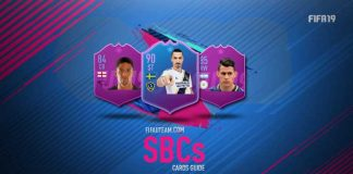 FIFA 19 Squad Building Challenges Cards Guide
