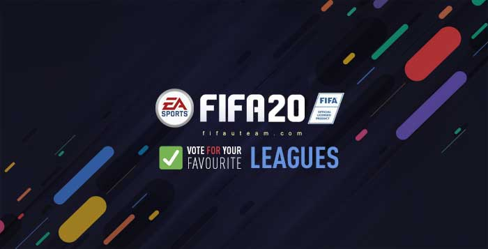 New FIFA 20 Leagues - Vote for Your Favourite Leagues