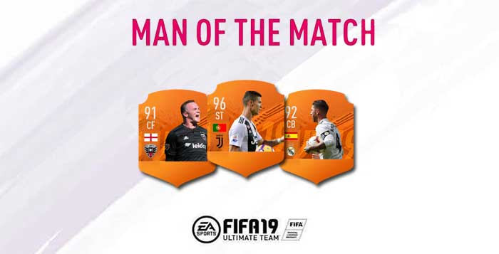 FIFA 19 Man of the Match Cards List