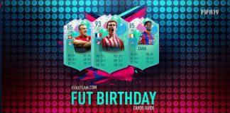FIFA 19 FUT Birthday Cards Guide