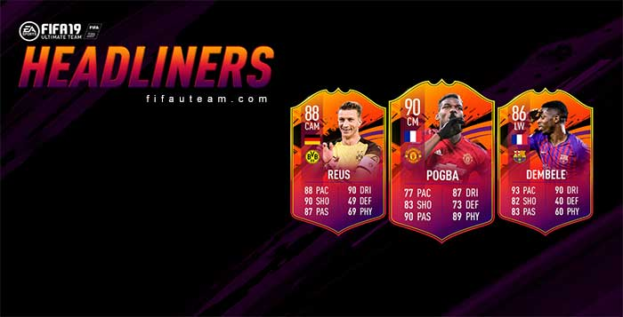 FIFA 19 Headliners Event Guide and Offers List
