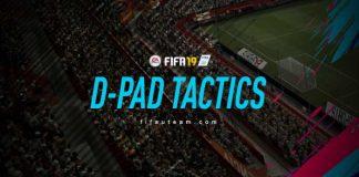 FIFA 19 D-Pad Tactics Guide