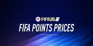 FIFA Points Prices for FIFA 20 Ultimate Team