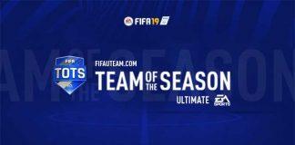 FIFA 19 Ultimate Team of the Season