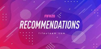 FIFA 20 Recommendations