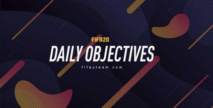FIFA 20 Daily Objectives