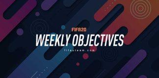 FIFA 20 Weekly Objectives
