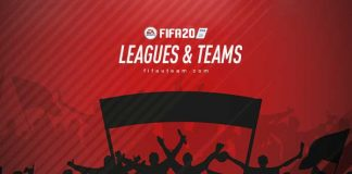 FIFA 20 Leagues, Clubs and National Teams List
