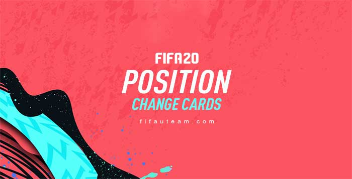 FIFA 20 Position Change Cards Guide