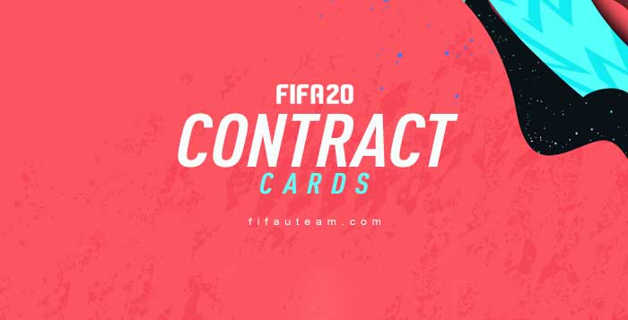 FIFA 20 Contract Cards Guide