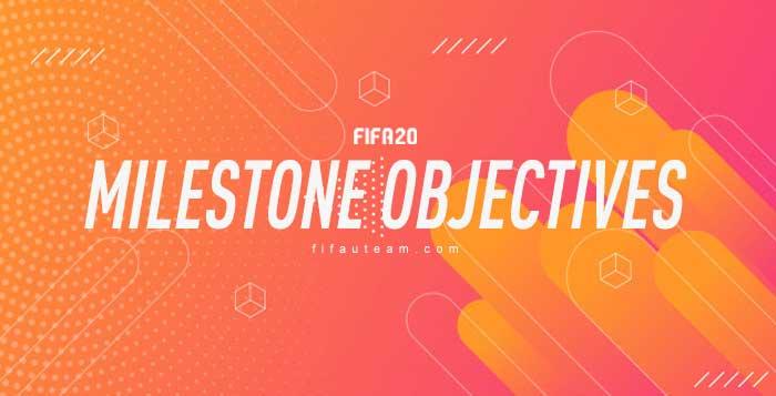 FIFA 20 Milestones Objectives