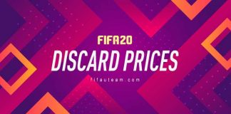 FIFA 20 Quick Sell Prices - Discard Prices for FUT 20