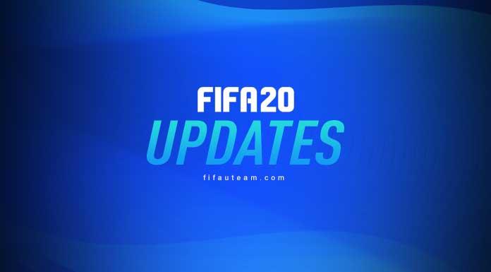 FIFA 20 Update History