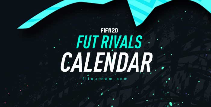 FUT Division Rivals Calendar for FIFA 20 Ultimate Team