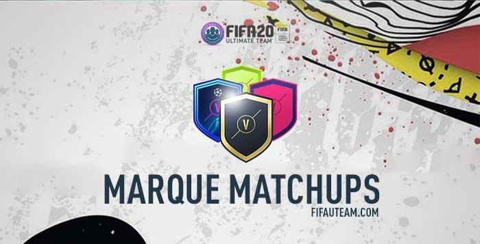 FIFA 20 Marquee Matchups SBCs Guide