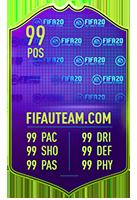 FIFA 20 Award Winner Item