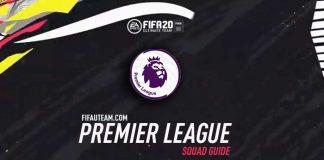 FIFA 20 Premier League Squad