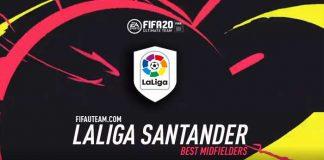FIFA 20 LaLiga Midfielders
