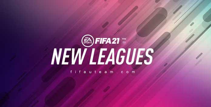 FIFA 21 New Leagues