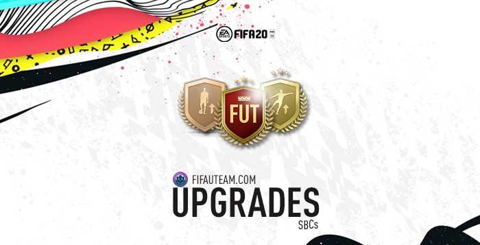 FIFA 20 Squad Building Challenges Rewards - Upgrade SBCs