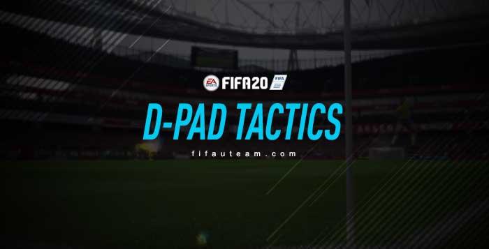 FIFA 20 D-Pad Tactics