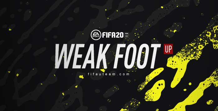 FIFA 20 Weak Foot Upgrades List