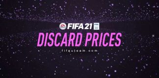 FIFA 21 Quick Sell Prices - Discard Prices for FUT 21