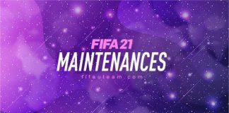 FIFA 21 Maintenance Times