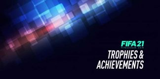 FIFA 21 Trophies and Achievements