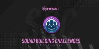 FIFA 21 Squad Building Challenges