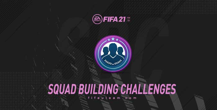 FIFA 21 Squad Building Challenges