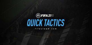 FIFA 21 Quick Tactics
