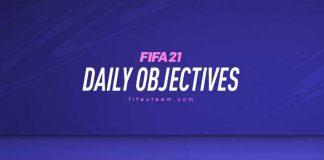 FIFA 21 Daily Objectives