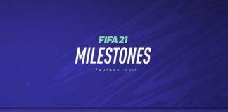 FIFA 21 Milestones