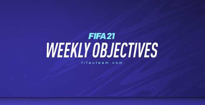 FIFA 21 Weekly Objectives