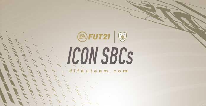 FIFA 21 ICON SBCs