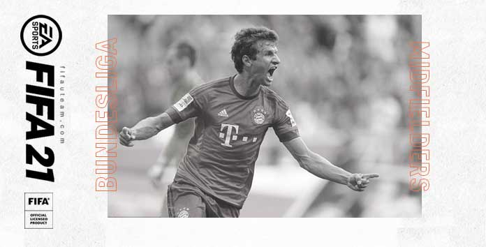 FIFA 21 Bundesliga Midfielders