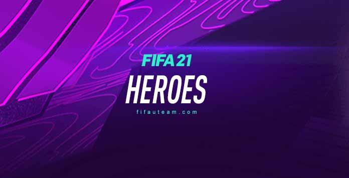 FIFA 21 Heroes Cards List