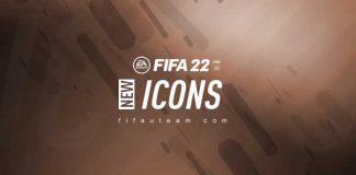 New FIFA 22 Icons