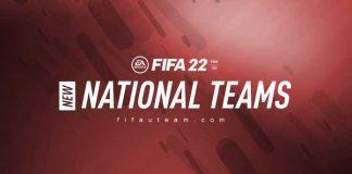 New FIFA 22 National Teams