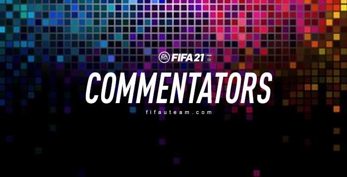 FIFA 21 Commentators