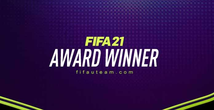 FIFA 21 Award Winner Cards
