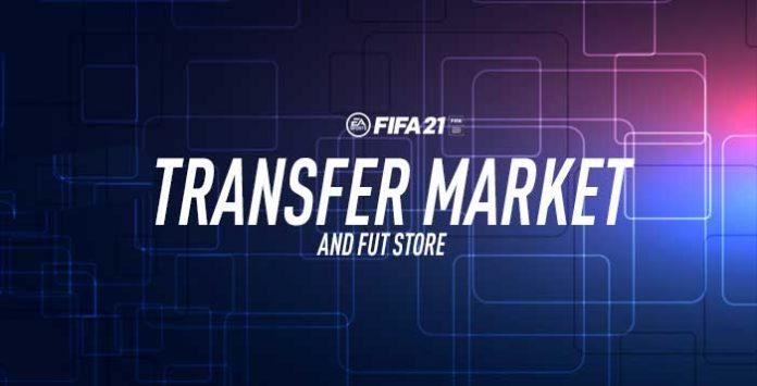 FIFA 21 Transfer Market and FUT Store