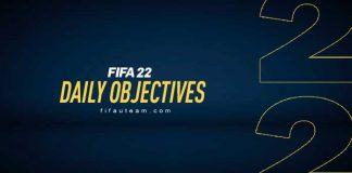 FIFA 22 Daily Objectives