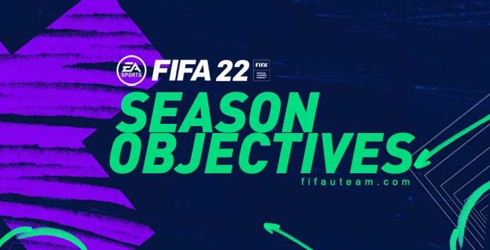 FIFA 22 Seasons Objectives
