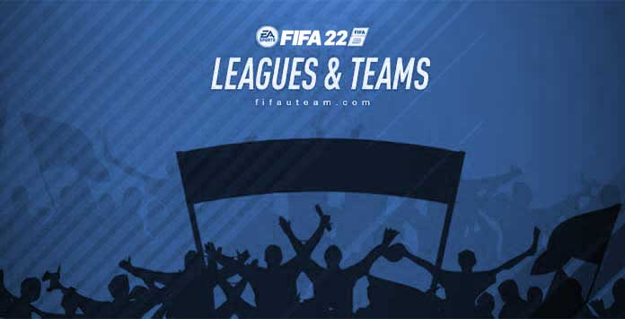 FIFA 22 Leagues and Clubs