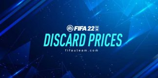 FIFA 22 Quick Sell Prices - Discard Prices for FUT 22