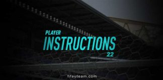 FIFA 22 Player Instructions